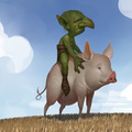 goblin rider by reiko