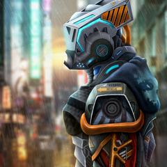 underground style robot by rodrigo_avila