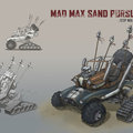 mad max sand pursuit vehicle by loperacano
