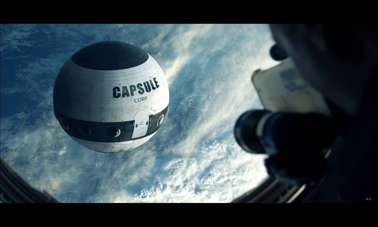 capsule corp spotted by stevencormann