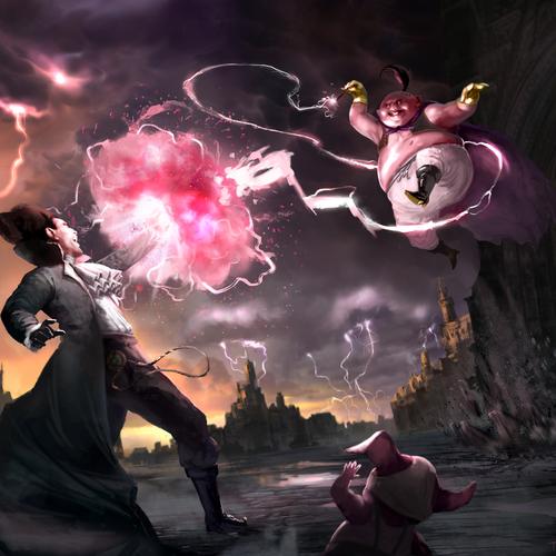 Victorian Dragon Ball Z by twchrist