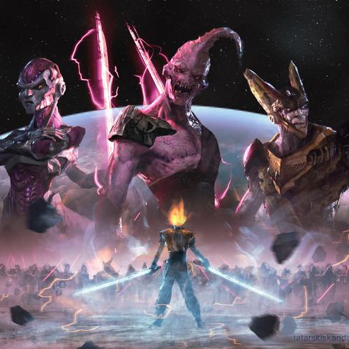 Star Dragon Ball Wars by sebastian_horoszko