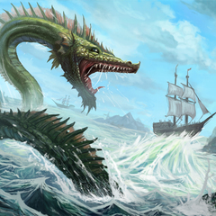 tidal wave dragon