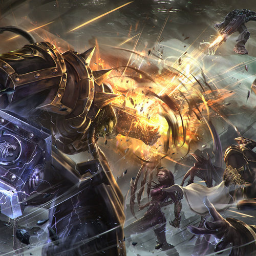 Heroes Of The Storm by johnathanchong