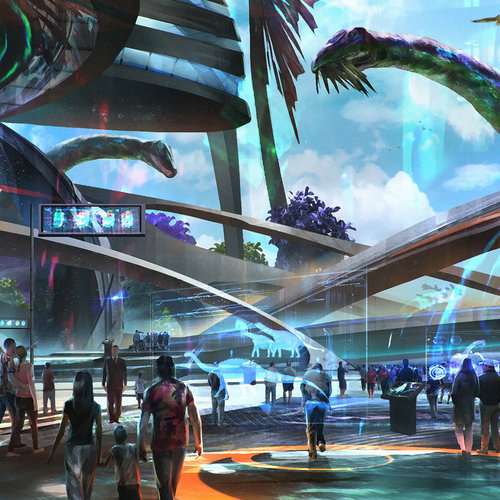 Jurassic Park 2030 by johnathanchong