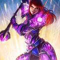 crystalforged vindicator by sulamoon