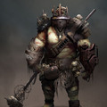 fallout 4 mutant concept art by jensfiedler