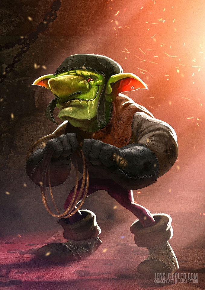 goblin concept-art by jensfiedler