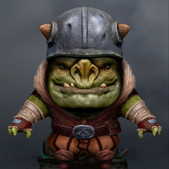 goblin figurine by jensfiedler