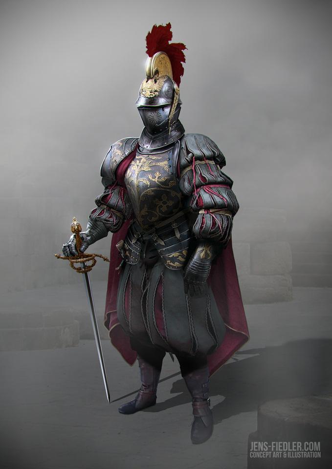 kings guard knight by jens fiedler