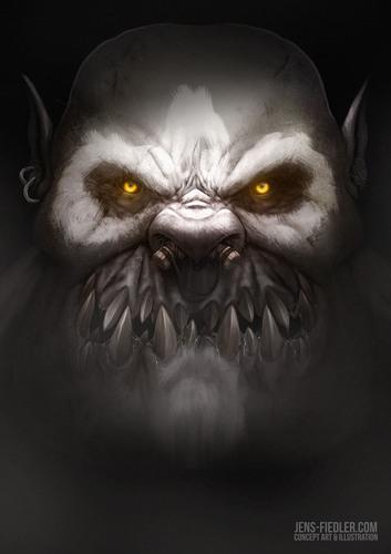 Display jumbo jens fiedler orc boss