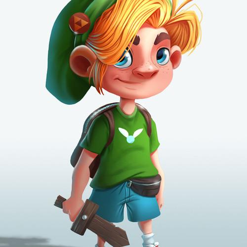 Zelda Fanart by jensfiedler