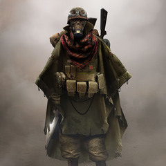 wasteland soldier by jensfiedler