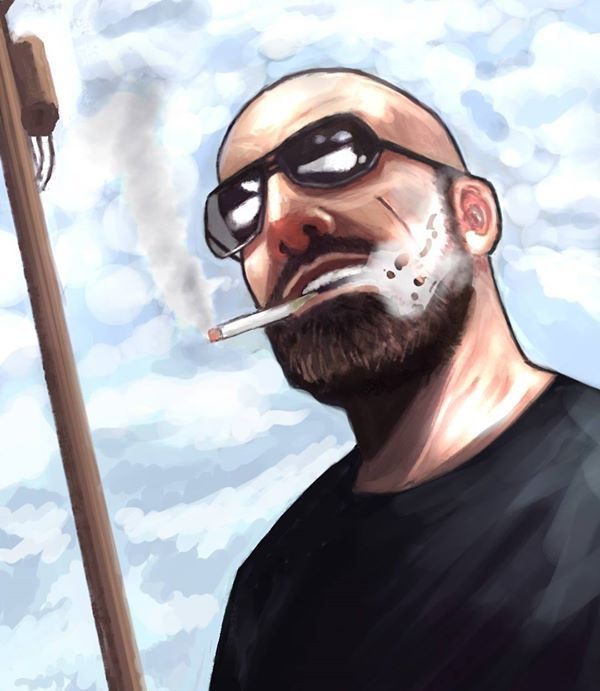 self portrait by protagonist