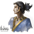 vishnu and garud exploration by trupti.gupta