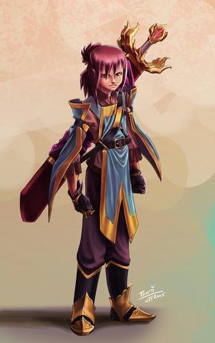 Display jumbo character sword