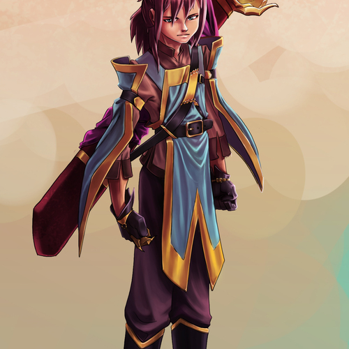 Character Design by trupti.gupta