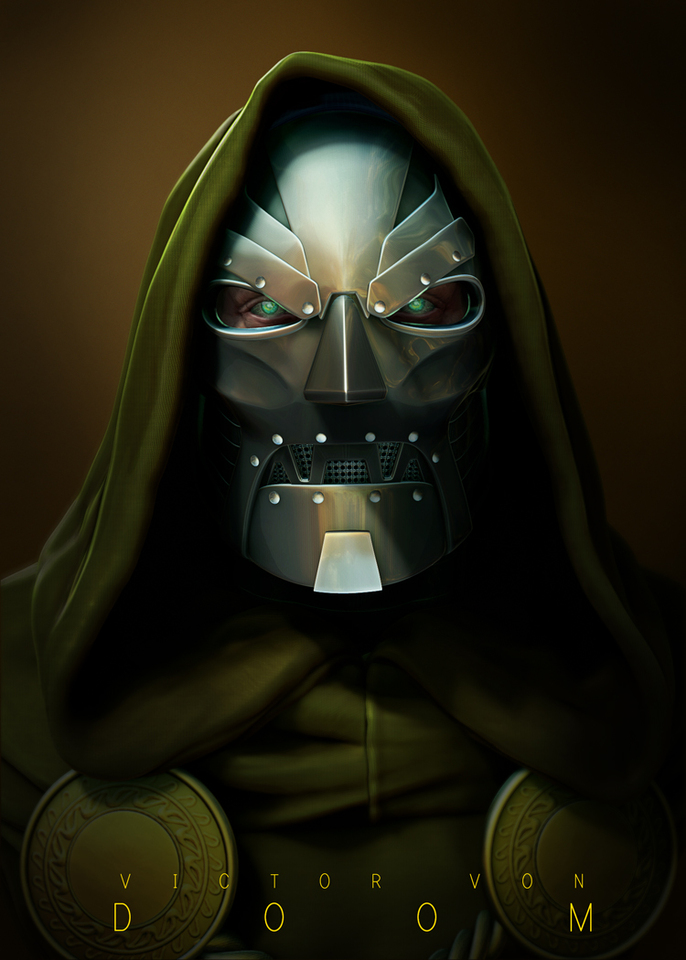 doctor doom by ljsketch