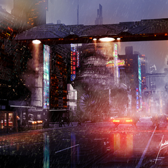 tech city concept by smila