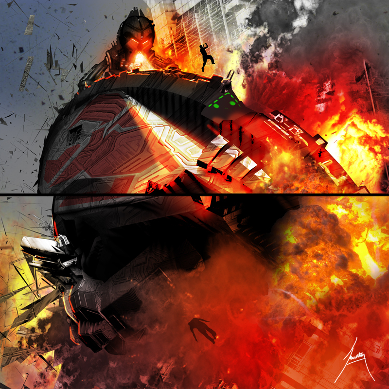 cruiser death concept pages by smila