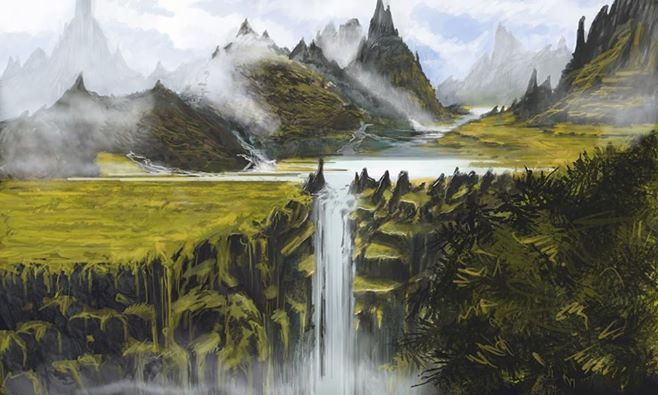 waterfall by protagonist