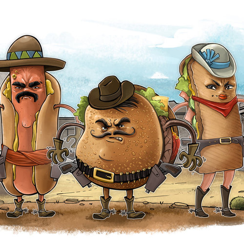 Fast Food Banditos by berov
