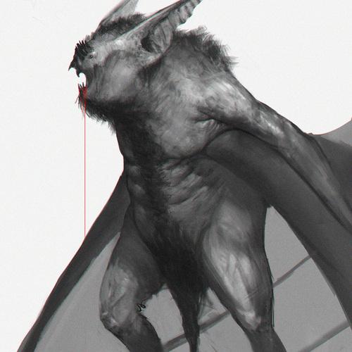 Batman Sketch by fedeginabreda