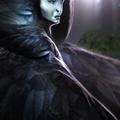 crow pretress by martinbailly