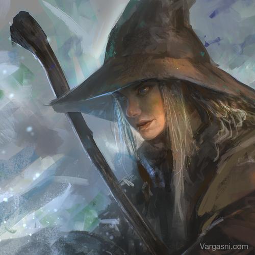 Wizard by vargasni