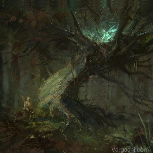 Magic Tree by vargasni