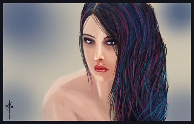 portrait by protagonist