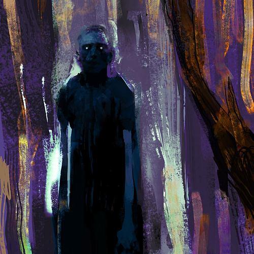 Ghost Speepainting by davidgau