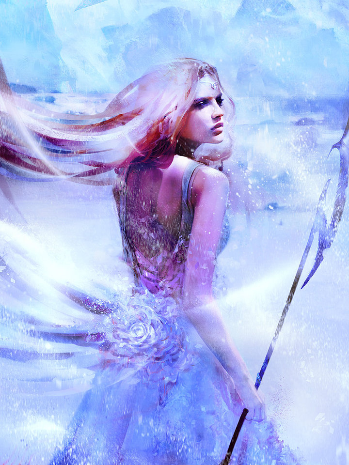 ice queen 1 by simon_goinard