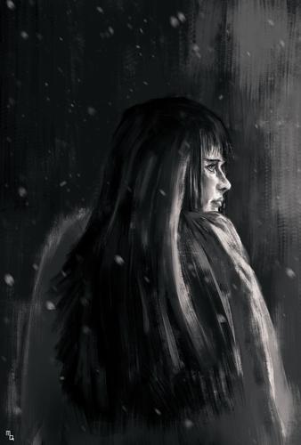 Display jumbo lady sketch2