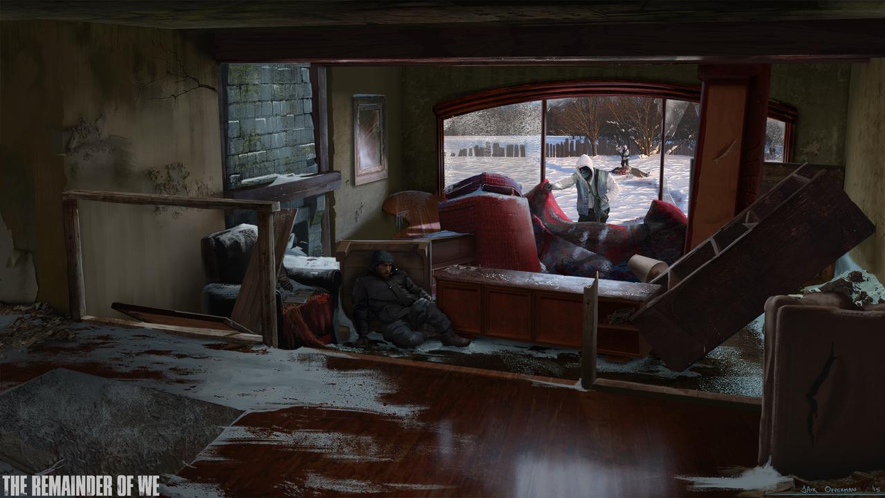 winter hideout by jaik