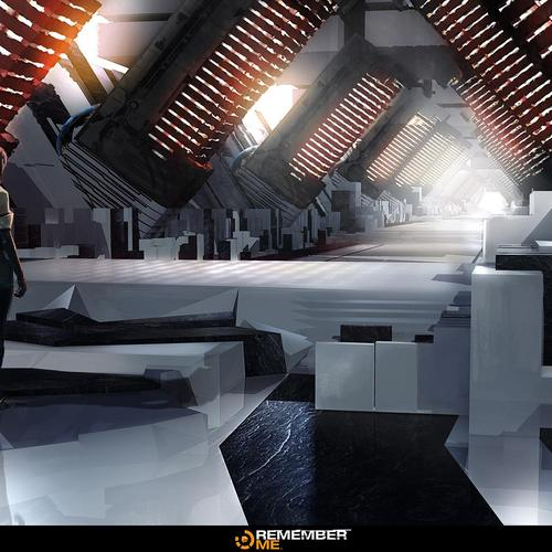 Remember Me   Server Corridor Concept by garyjamroz