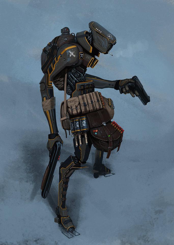 bounty hunter by asahiart