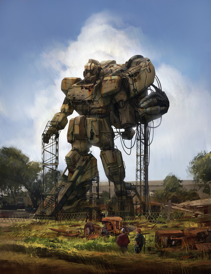 desertmech by jeffpaulsrud