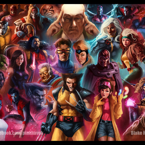X Men Animated by pinkhavok
