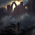 ruined city by silberius