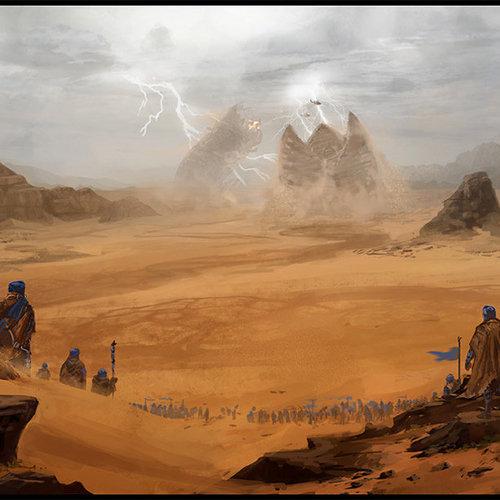 The Field   Dune Tribute by garyjamroz