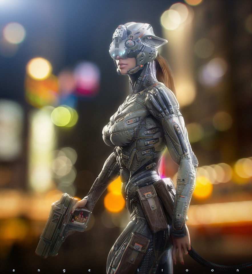 catwoman suit by angelitoon