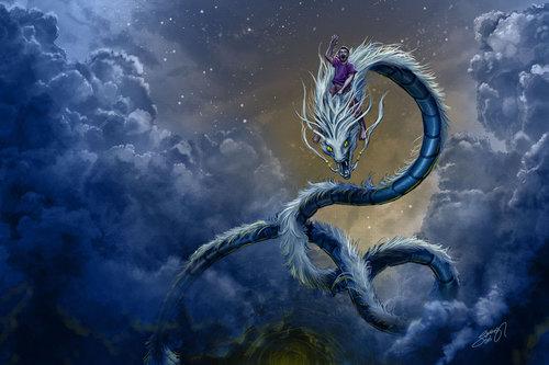 Display jumbo dragon