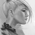 portrait study 03 by banecrafts