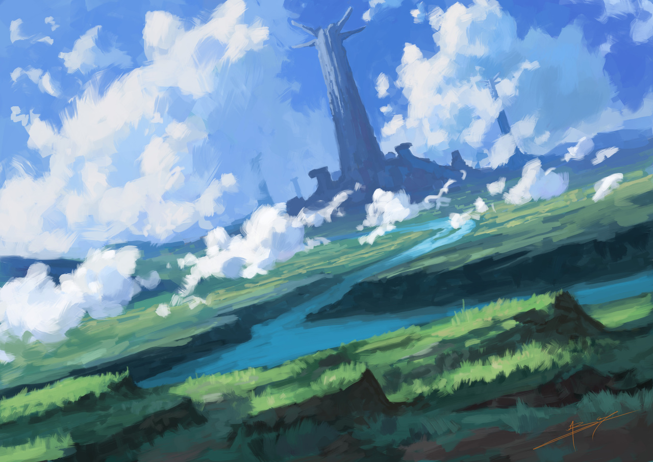 giant pillars by banecrafts