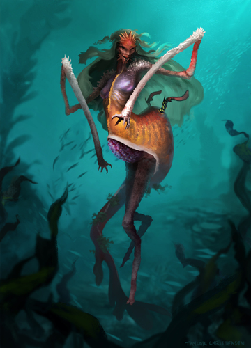 Weedy Mermaid by Taylor Christensen