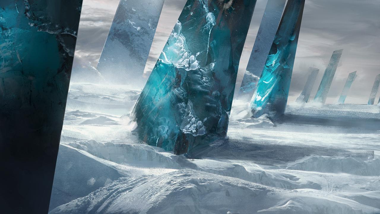 ice pillar by julienhauville