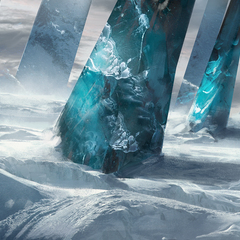 ice pillar by julienhauville