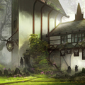 town of the beginnings by fornitani