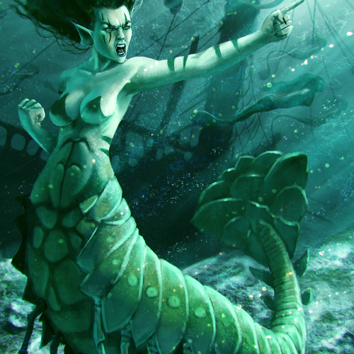 Mermaid Wars by coby_r